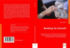 Bookcover of Banking for Growth