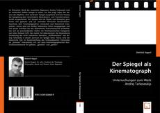 Der Spiegel als Kinematograph kitap kapağı