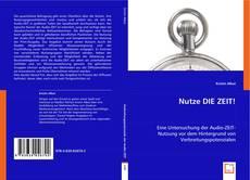 Buchcover von Nutze DIE ZEIT!