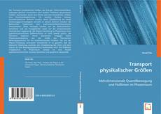Capa do livro de Transport physikalischer Größen