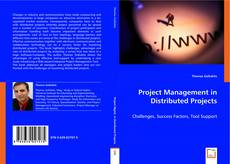Bookcover of Project Management in Distributed Projects