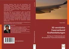 Bookcover of 3D verstärkte Faserverbund Krafteinleitungen
