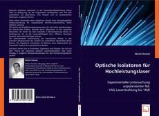 Portada del libro de Optische Isolatoren für Hochleistungslaser