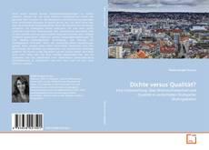 Bookcover of Dichte versus Qualität?
