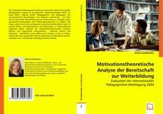 Copertina di Motivationstheoretische Analyse der Bereitschaft zur Weiterbildung