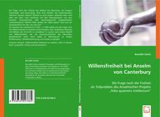 Bookcover of Willensfreiheit bei Anselm von Canterbury