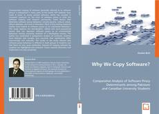 Why We Copy Software? kitap kapağı