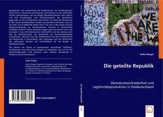 Bookcover of Die geteilte Republik