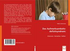 Portada del libro de Das Aufmerksamkeitsdefizitsyndrom: