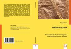 Bookcover of Mühlentechnik