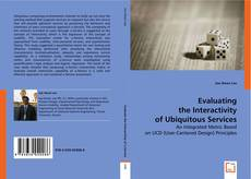 Bookcover of Evaluating the Interactivity of Ubiquitous Services