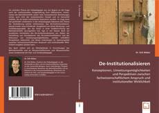 Portada del libro de De-Institutionalisieren