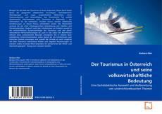 Обложка Der Tourismus in Österreich und seine volkswirtschaftliche Bedeutung