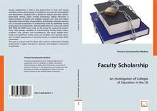 Copertina di Faculty Scholarship