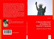 Portada del libro de A Reconsideration of Hobbes for Post-9/11 America