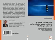 Copertina di Erfinder, Künstler und Markeninhaber als europäische Marktsegmentierer?