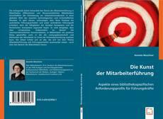 Die Kunst der Mitarbeiterführung kitap kapağı