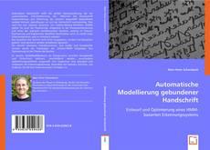 Bookcover of Automatische Modellierung gebundener Handschrift