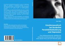 Bookcover of Emotionsausdruck bei Borderline Persönlichkeitsstörung und Depression