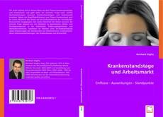 Portada del libro de KRANKENSTANDSTAGE UND ARBEITSMARKT