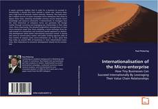 Copertina di Internationalisation of the Micro-enterprise