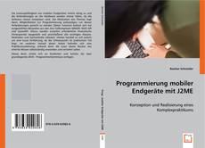 Programmierung mobiler Endgeräte mit J2ME kitap kapağı