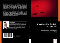 Capa do livro de Schiedsgerichtsbarkeit im Internet