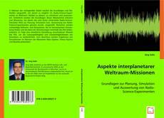 Capa do livro de Aspekte interplanetarer Weltraum-Missionen