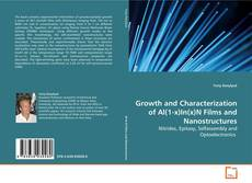 Обложка Growth and Characterization of Al(1-x)In(x)N Films and Nanostructures