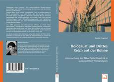 Portada del libro de Holocaust und Drittes Reich auf der Bühne