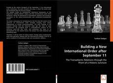 Bookcover of Building a New International Order after September 11