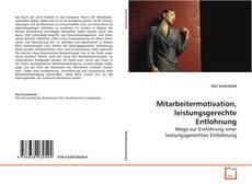 Bookcover of Mitarbeitermotivation, leistungsgerechte Entlohnung