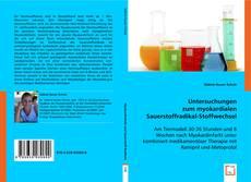 Обложка Untersuchungen zum myokardialen Sauerstoffradikal-Stoffwechsel