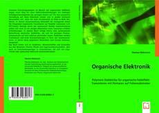 Organische Elektronik kitap kapağı