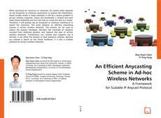 Buchcover von An Efficient Anycasting Scheme in Ad-hoc Wireless Networks