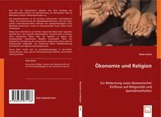 Buchcover von Ökonomie und Religion