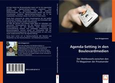 Bookcover of Agenda-Setting in den Boulevardmedien