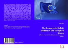 Portada del libro de The Democratic Deficit Debate in the European Union