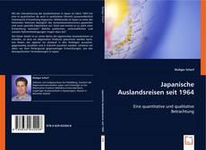 Bookcover of Japanische Auslandsreisen seit 1964