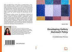 Bookcover of Developing Gallery Outreach Policy
