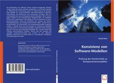 Buchcover von Konsistenz von Software-Modellen