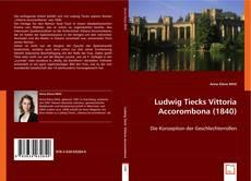 Buchcover von Ludwig Tiecks Vittoria Accorombona (1840)