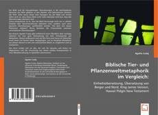 Обложка Biblische Tier- und Pflanzenweltmetaphorik im Vergleich: