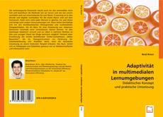 Portada del libro de Adaptivität in multimedialen Lernumgebungen