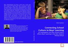 Buchcover von Connecting School Culture to Boys' Learning
