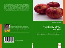 Buchcover von The Reality of This and That