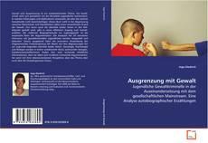 Capa do livro de Ausgrenzung mit Gewalt