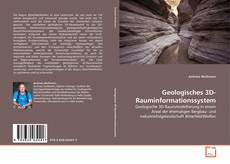 Couverture de Geologisches 3D-Rauminformationssystem