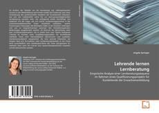 Bookcover of Lehrende lernen Lernberatung