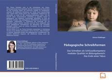 Bookcover of Pädagogische Schreibformen